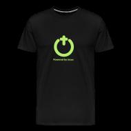T-Shirts ~ Men's Premium T-Shirt ~ POWERED BY JESUS