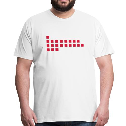 1893 Squares - Männer Premium T-Shirt