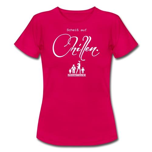 Basic Shirt rubinrot - Frauen T-Shirt