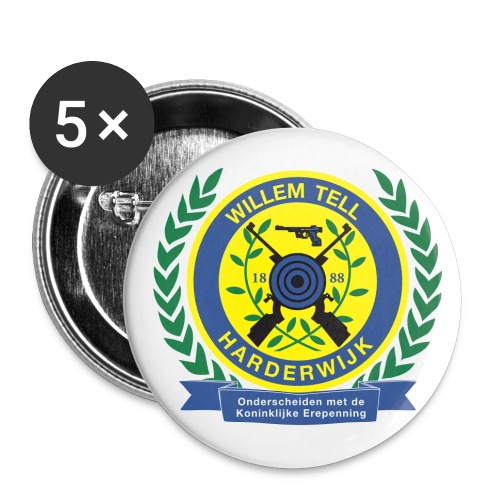 Button groot - Buttons groot 56 mm (5-pack)