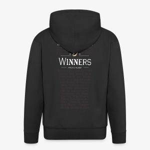 Glasgow PRO12 Winners Glass - Men's Premium Hooded Jacket