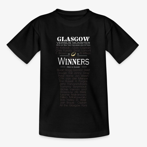 Glasgow PRO12 Winners Glass - KIDS - Kids' T-Shirt