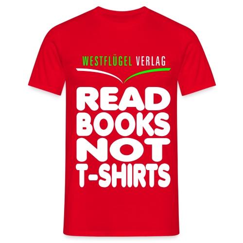 Westflügel Klassiker rot - Männer T-Shirt