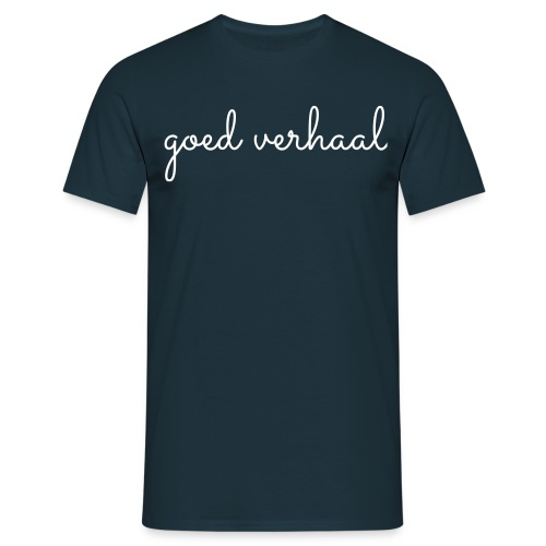 Goed verhaal, lekker kort, M - Mannen T-shirt