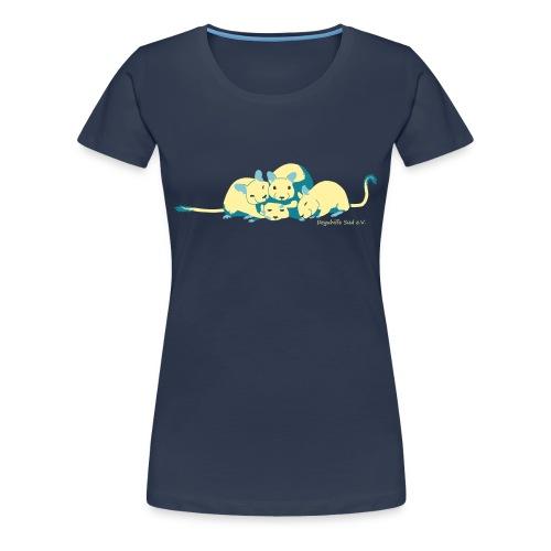 Kuschelhaufen DHS - Frauen Premium T-Shirt