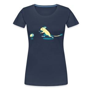 Fang die Nuss! - Frauen Premium T-Shirt