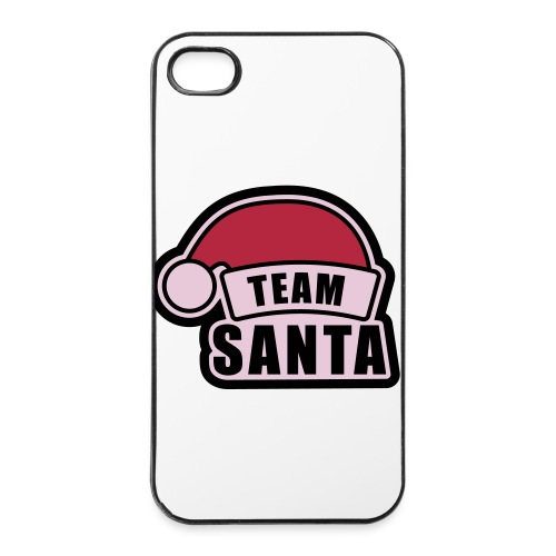 Iphone 4 Hard Case - Team Santa - iPhone 4/4s hard case