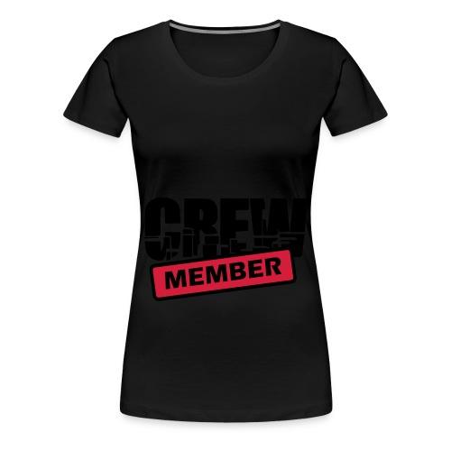 Women T-Shirt - Crew Member - Vrouwen Premium T-shirt