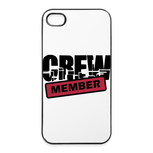 Iphone 4 Hard Case - Crew Member - iPhone 4/4s hard case