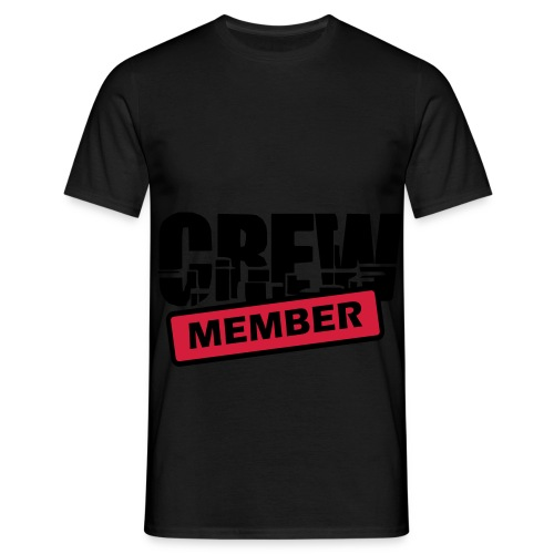 Men T-Shirt - Crew Member - Mannen T-shirt