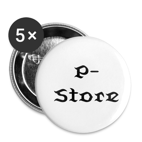 P-Store Buttons - Buttons klein 25 mm