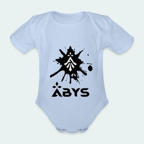 Body Bébé Tache D'encre Logos - Body bébé bio manches courtes