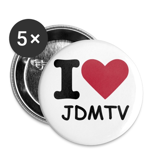 JDMTV Buttons [5er Pack] - Buttons groß 56 mm