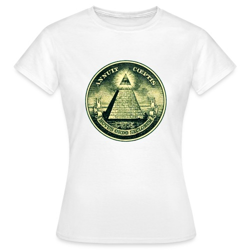 All Seeing Eye for her - Vrouwen T-shirt