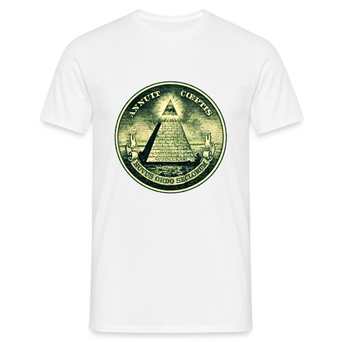 All Seeing Eye for him - Mannen T-shirt