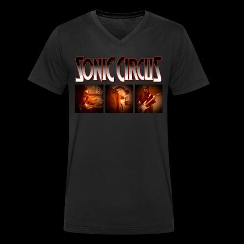 SONIC CIRCUS You Will Not Forget My Name - Männer Bio-T-Shirt mit V-Ausschnitt von Stanley & Stella
