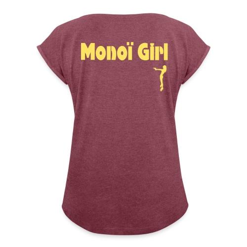 Nanou - T-shirt à manches retroussées Femme