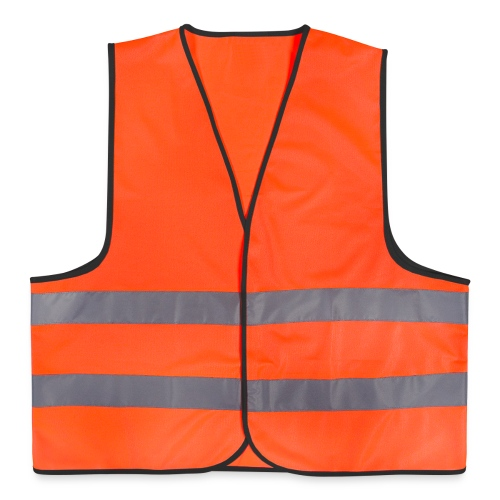 Orange High Visibility Cycling Extreme - Reflective Vest