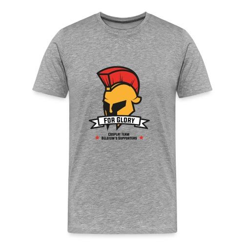 T-shirt For Glory Homme - Gris chiné - T-shirt Premium Homme