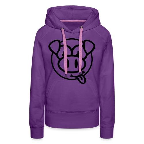 varken face sweater vrouwen - Vrouwen Premium hoodie