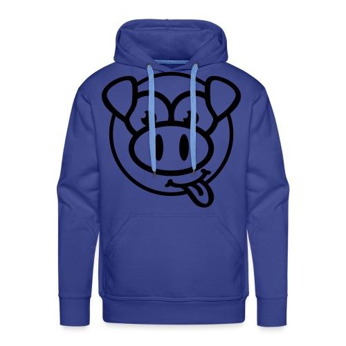 varken face sweater mannen - Mannen Premium hoodie