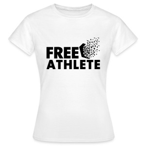 Free Athlete Freedom - Frauen T-Shirt