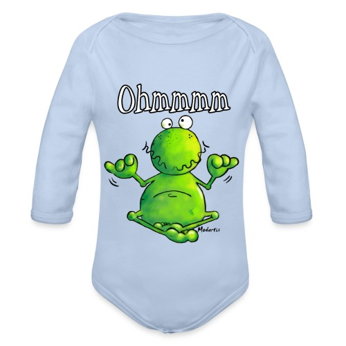 Little Kroko - Baby Bio-Langarm-Body