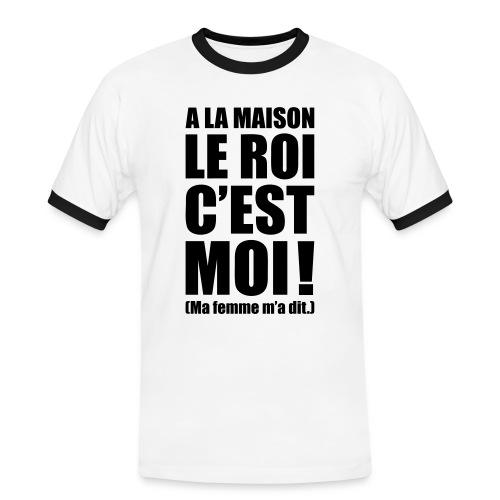 Tee shirt - T-shirt contrasté Homme