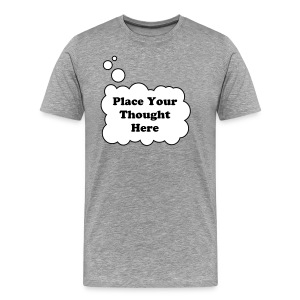 Personal Thought Bubble - Mannen Premium T-shirt