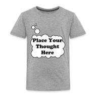 Shirts ~ Kids' Premium T-Shirt ~ Personal Thought Bubble