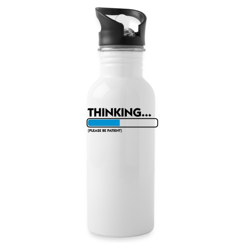 Thinking - Drinkfles