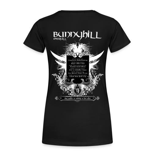 Bunnyhill-Overkill Tshirt mit Tourdaten - Frauen Premium T-Shirt