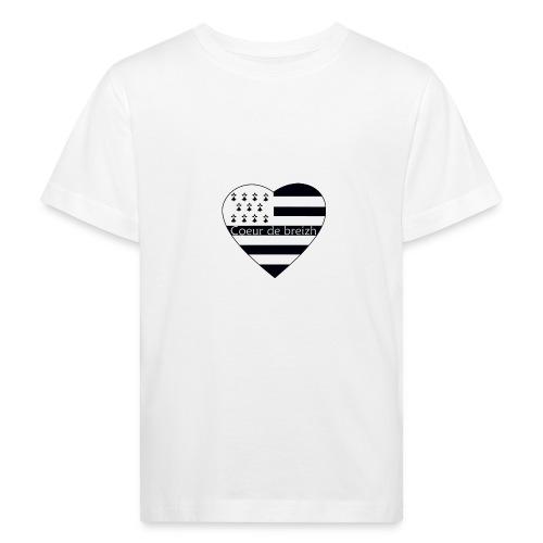 T-Shirt enfant Coeur de Breizh - T-shirt bio Enfant