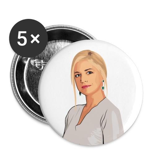 Koningin Máxima - Buttons klein 25 mm