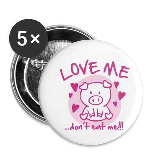 Badge - Lot de 5 moyens badges (32 mm)