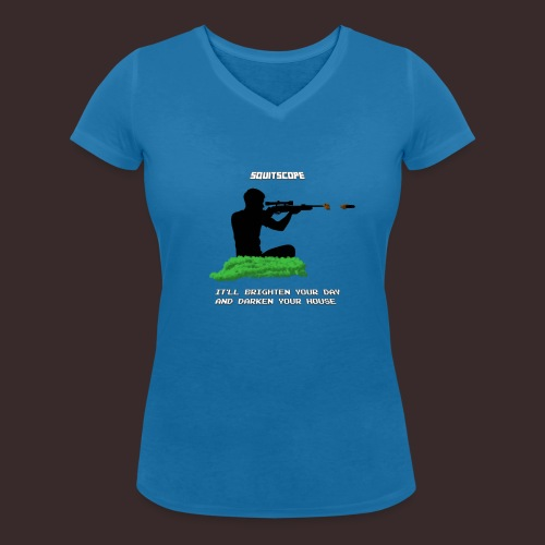 The SQUITSCOPE - Women's Organic V-Neck T-Shirt by Stanley & Stella