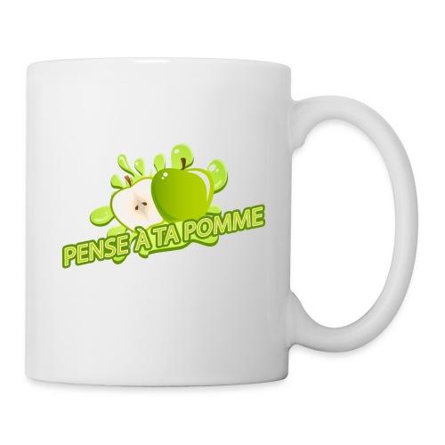 Pense à ta pomme - Mug 2 - Mug blanc