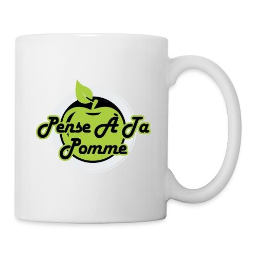 Pense à ta pomme - Mug 4 - Mug blanc