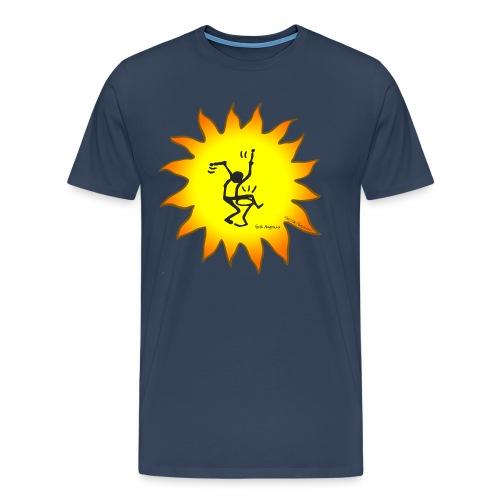 Trommler T-Shirt - Konzept-Lebensfreude.de - Männer Premium T-Shirt