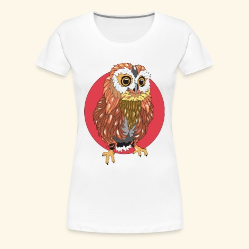 Chouette - T-shirt Premium Femme
