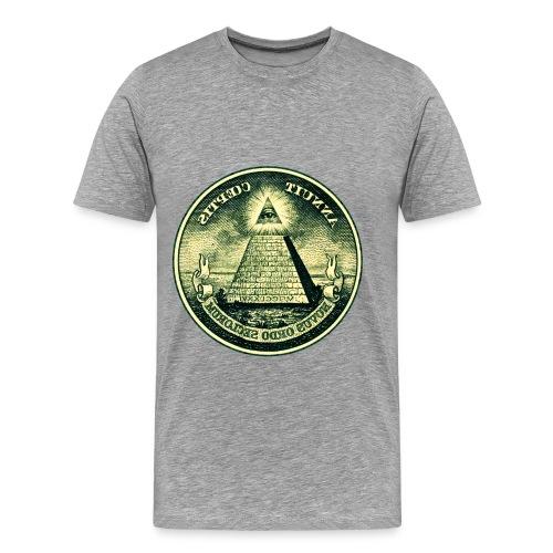 Dollar illi - Mannen Premium T-shirt