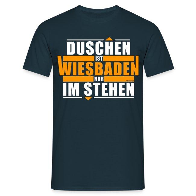 Duschen ist Wiesbaden - nur im Stehen