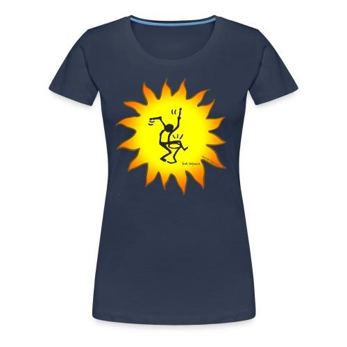 Trommler T-Shirt - Konzept-Lebensfreude.de - Frauen Premium T-Shirt