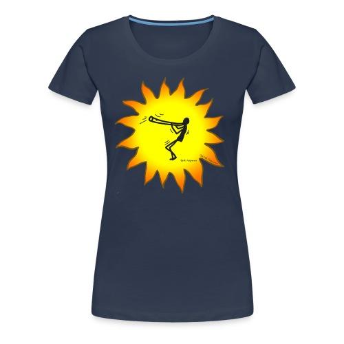 Didgeridoo T-Shirt - Konzept-Lebensfreude.de - Frauen Premium T-Shirt