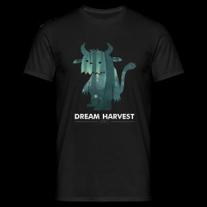 Dream Harvest - Monster Logo Black Mens / Unisex T-Shirt - Men's T-Shirt