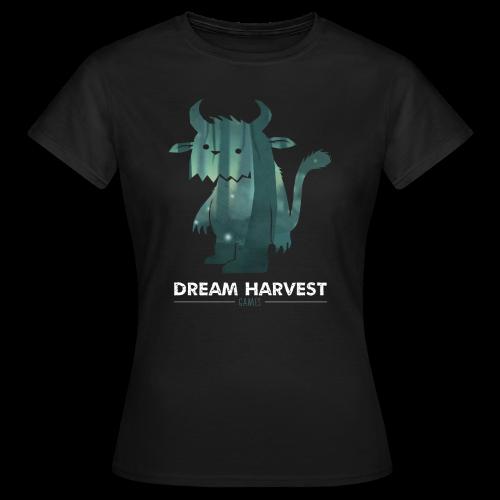 Dream Harvest - Monster Logo Black Women's T-Shirt - Women's T-Shirt