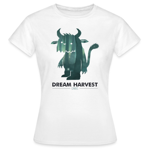Dream Harvest - Monster Logo White Women's T-Shirt - Women's T-Shirt