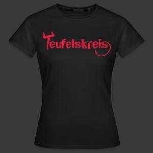 Teufelskreis Logo - Frauen T-Shirt