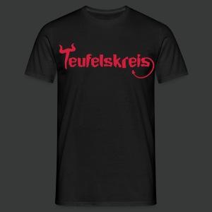 Teufelskreis Logo - Männer T-Shirt