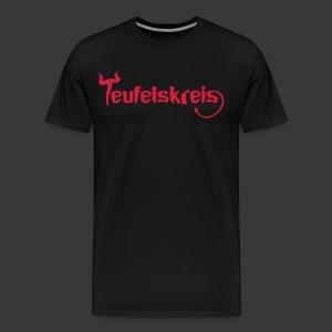 Teufelskreis Logo - Männer Premium T-Shirt